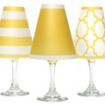 wine glass shades yesllow